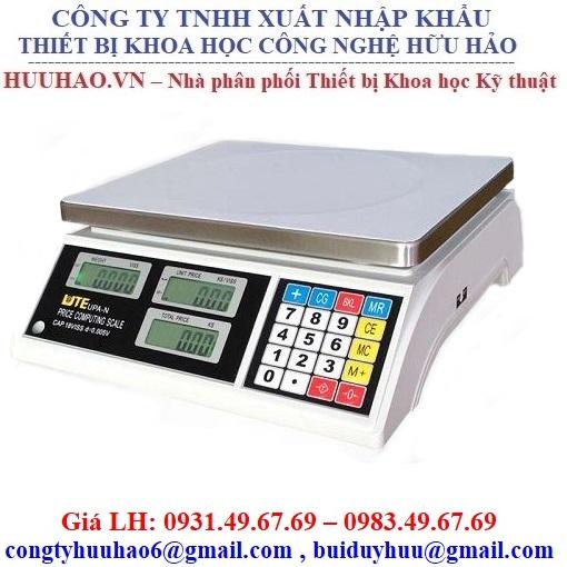Cân điện tử tính tiền UTE UPA Q 30 (30kg/5g)