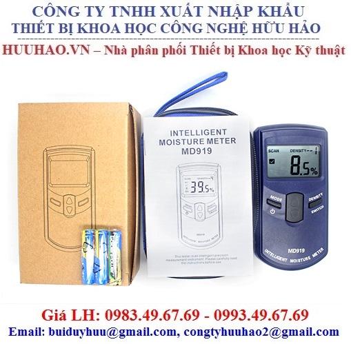 Máy đo độ ẩm giấy bằng cảm ứng MD919