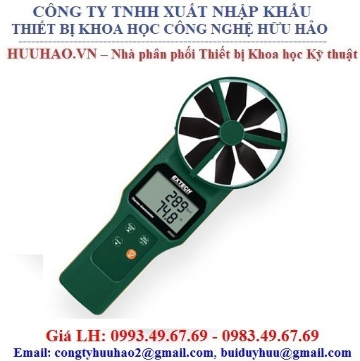 Máy đo nhiệt độ, tốc độ, lưu lượng gió EXTECH AN300