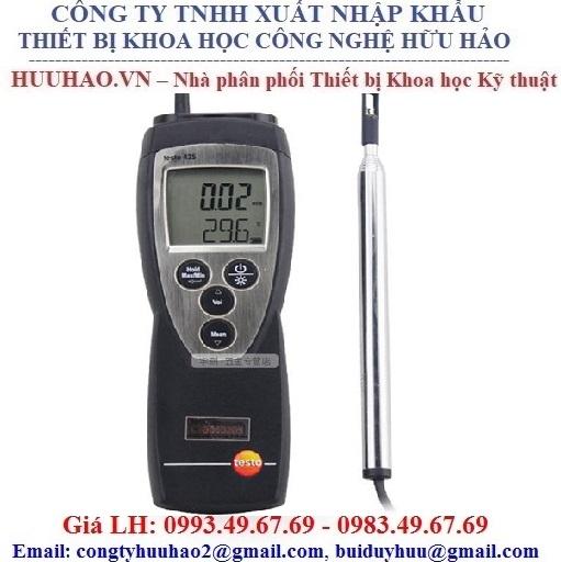 Máy đo tốc độ gió, nhiệt độ testo 425