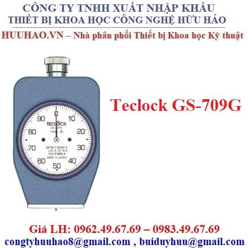 Đồng hồ đo độ cứng cao su mềm Teclock GS-709G