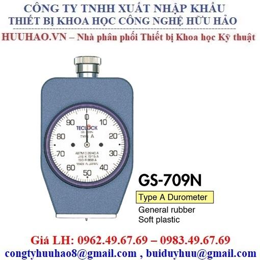 Đồng hồ đo độ cứng cao su mềm Teclock GS-709N