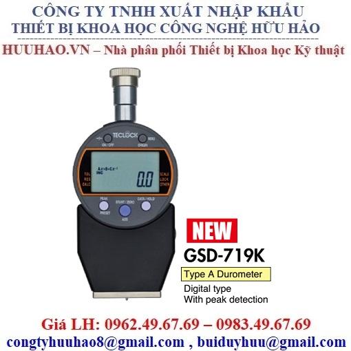 Đồng hồ đo độ cứng cao su số Teclock GSD-719K