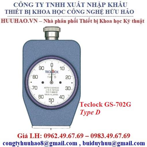 Đồng hồ đo độ cứng Nhựa, cao su cứng Teclock GS-702G
