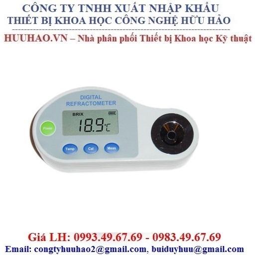 Khúc xạ kế kỹ thuật số đo độ ngọt, độ mặn