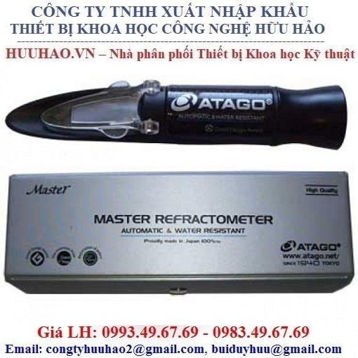 Khúc xạ kế đo độ ngọt Atago Master-53M