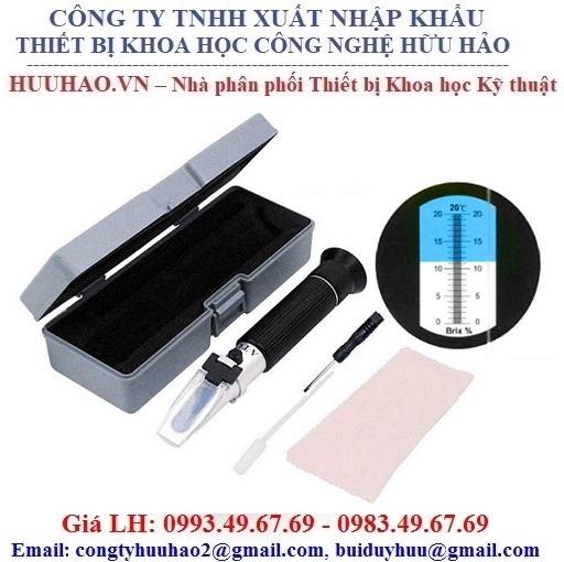 Khúc xạ kế đo độ đường, độ ngọt RHB-20, RHB-32, RHB-80