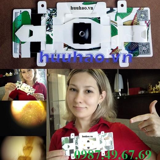 Kính hiển vi giấy foldscope