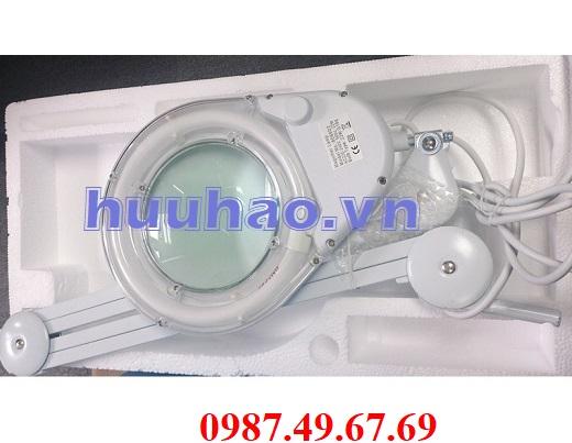 Kính lúp kẹp bàn 8066D2-4C đèn huỳnh quang