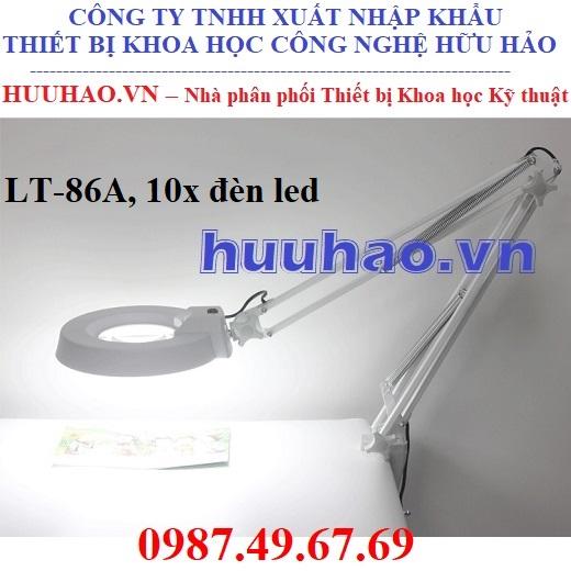 Kính lúp đèn led 10x