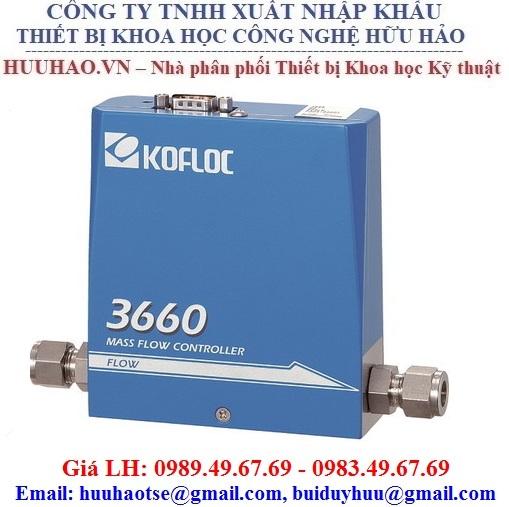 Bộ điều khiển khí, Cảm biến đo lưu lượng 3660 Kofloc