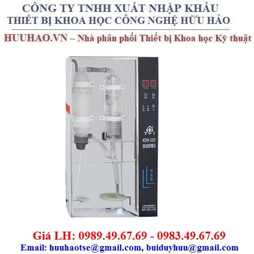 Máy phân tích đạm, nitơ tự động KDN 103F