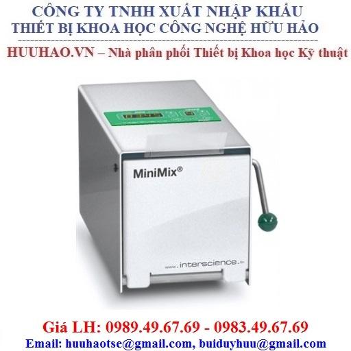 Máy dập mẫu vi sinh mini cửa inox MiniMix® 100 PCC