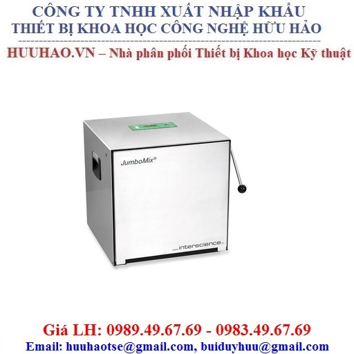 Máy dập mẫu vi sinh cửa inox JumboMix 3500 VP