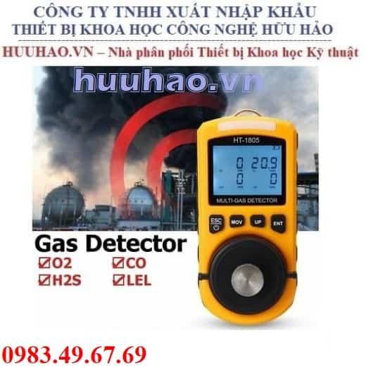 Máy đo 4 loại khí O2, CO, H2S, LEL Model HT1805