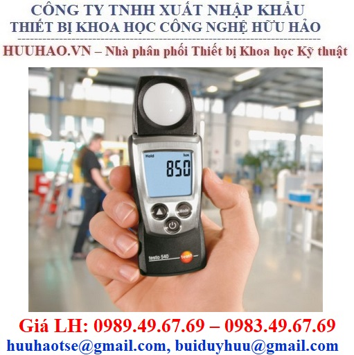 Máy đo cường độ ánh sáng Testo 540