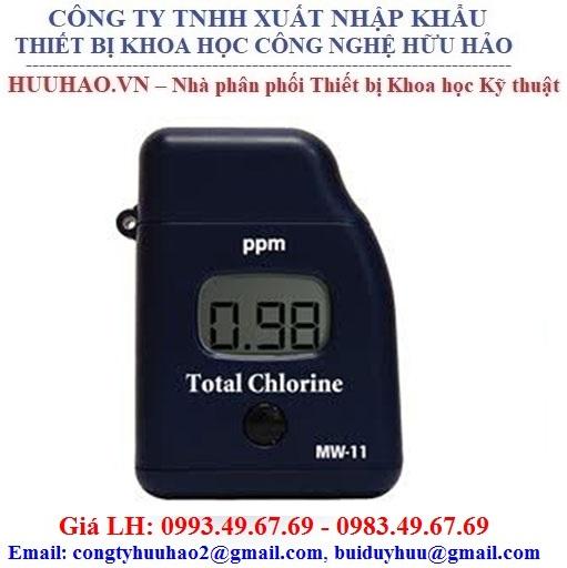 Máy đo Chlorine tự do MW10, Máy đo Chlorine tổng MW11