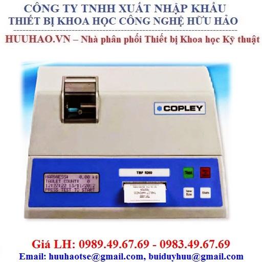 Máy Đo Độ Cứng Của Thuốc Viên Copley TBF 1000