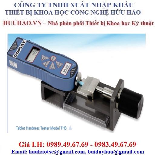 Máy thử độ cứng thuốc viên Copley Scientific Model TH3/500