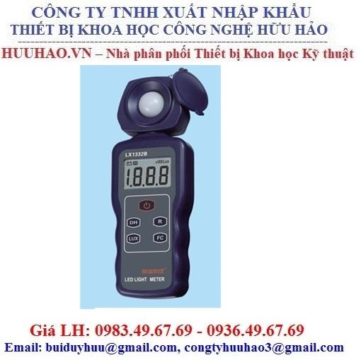 Thiết bị đo cường độ ánh sáng đèn Led LX1332B