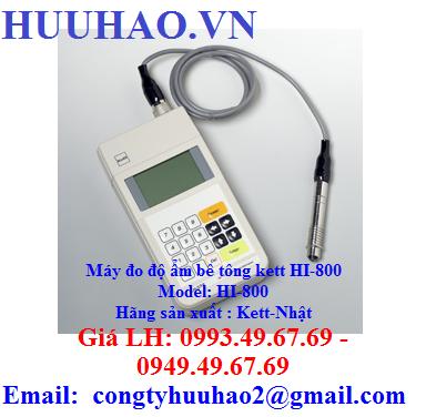Máy đo độ ẩm bê tông kett HI-800