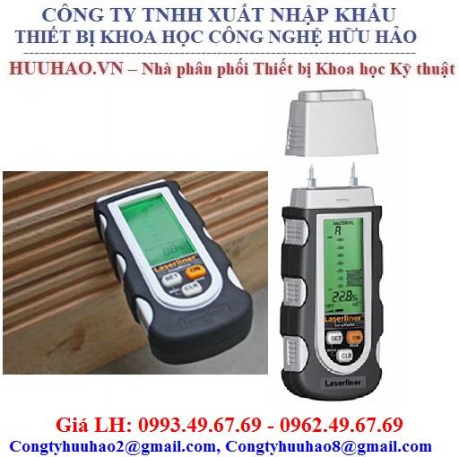 Máy đo độ ẩm gỗ, bê tông, vôi vữa, thạch cao, Laserliner 082.020A