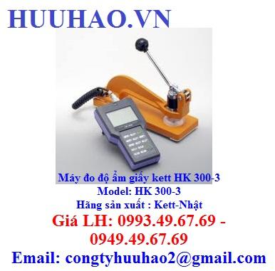 Máy đo độ ẩm giấy kett HK 300-3
