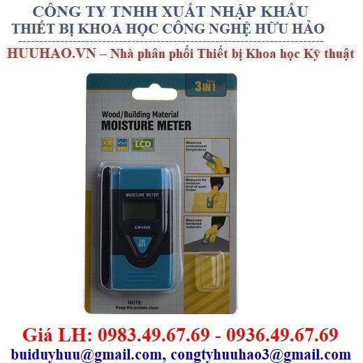 Máy đo độ ẩm Bê tông, Tường, Thạch cao EM-4806