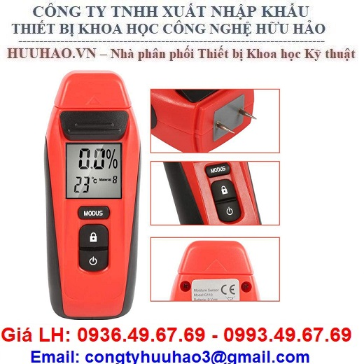 Máy đo độ ẩm của Gỗ và vật liệu xây dựng G110