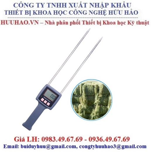 Máy đo độ ẩm rơm rạ, cỏ khô, thảo dược