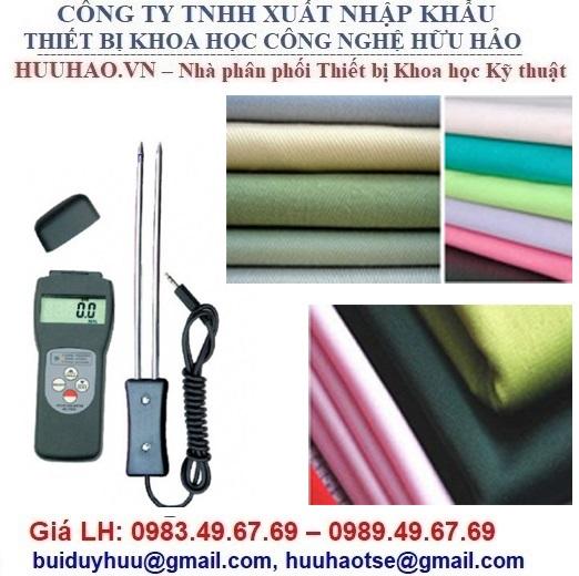 Máy đo độ ẩm vải, cotton, bông MC-7825C