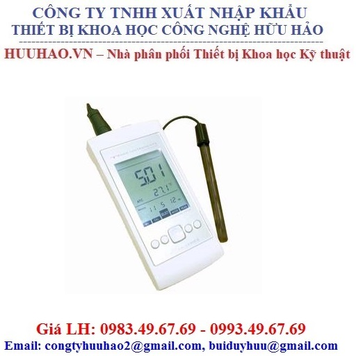 Máy đo độ dẫn điện cầm tay Walklab Conductivity Pro Meter