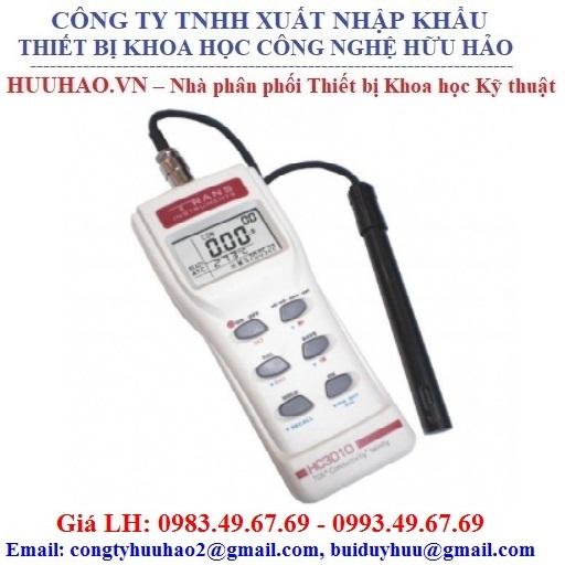 Máy đo độ dẫn điện / TDS / độ mặn cầm tay HC 3010