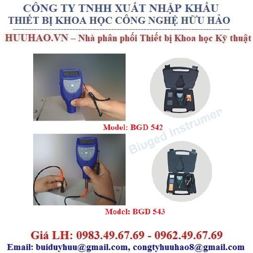 Máy đo độ dày màng sơn khô Biuged BGD 542, BGD 543