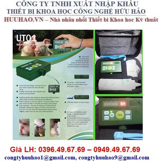 Máy đo độ dày mỡ lưng cho heo UT01