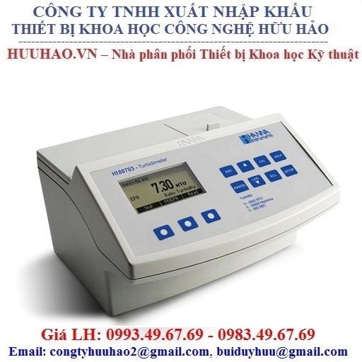 Máy đo độ đục, đo Chloride tự và Chloride tổng HANNA HI83414-02