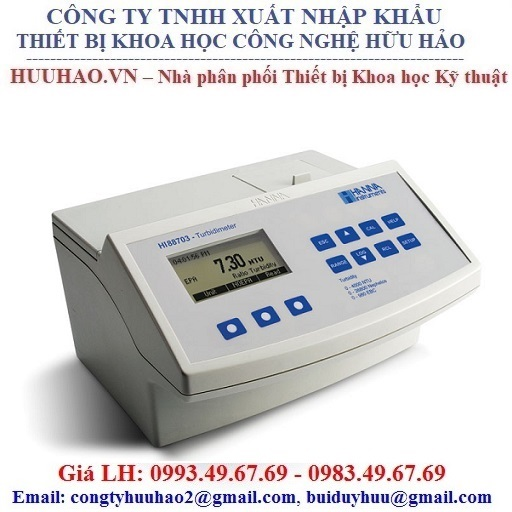 Máy đo độ đục để bàn HANNA HI88713-02