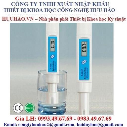Máy đo độ mặn trong các loại nước SA287