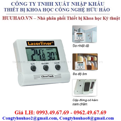 Máy đo nhiệt độ và độ ẩm Laserline 082.028A