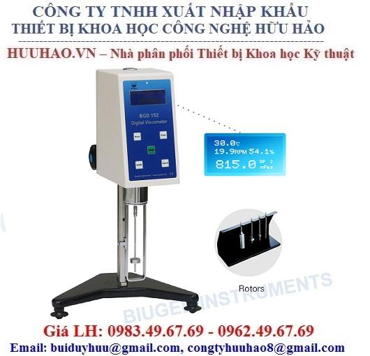 Máy đo độ nhớt hiện số Biuged BGD 152