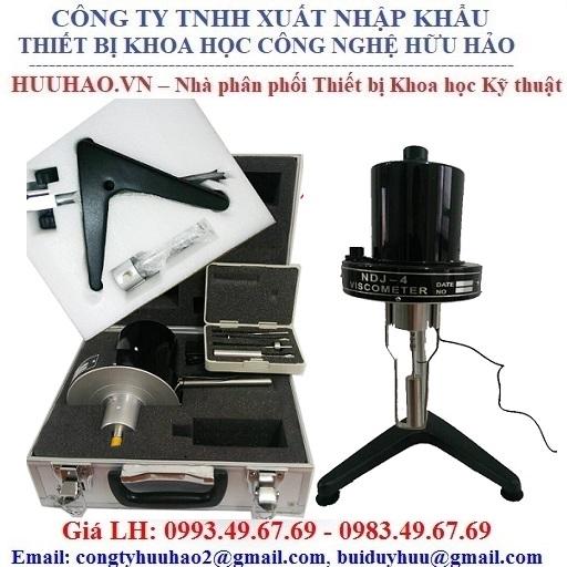 Máy đo độ nhớt NDJ-4