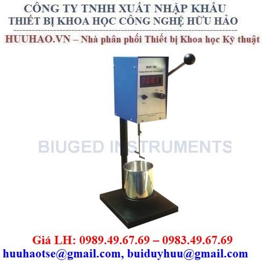 Máy đo độ nhớt KU Biuged Model: BGD 184