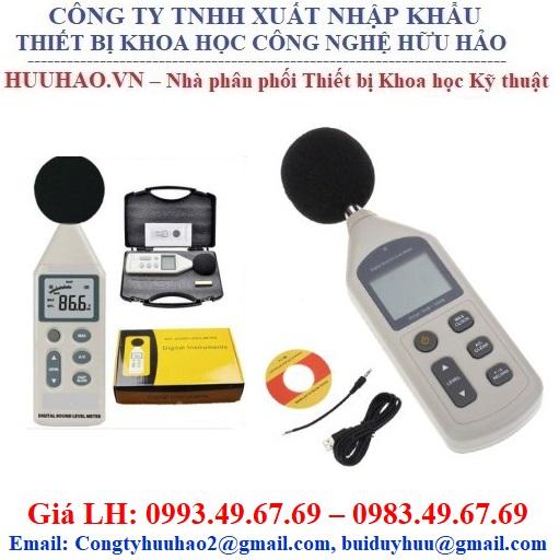 Máy đo độ ồn âm thanh SL-824
