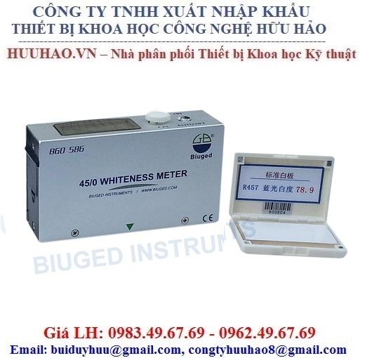 Máy đo độ trắng của giấy và lớp phủ Biuged BGD 586