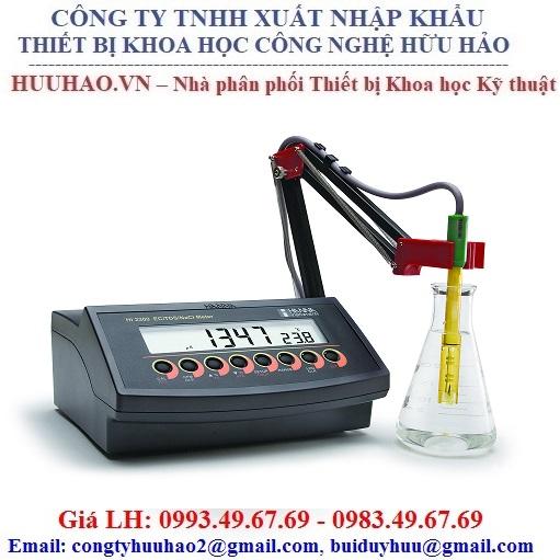 Máy đo EC/TDS/NaCl/nhiệt độ HANNA HI2300-02