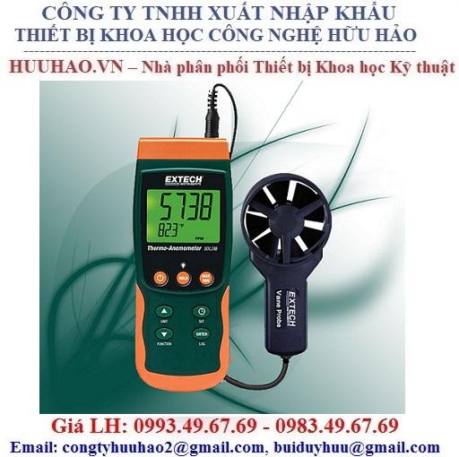 Máy đo tốc độ gió Extech SDL310