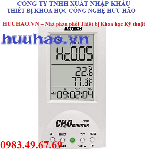 Máy đo nồng độ Formaldehyde FM300
