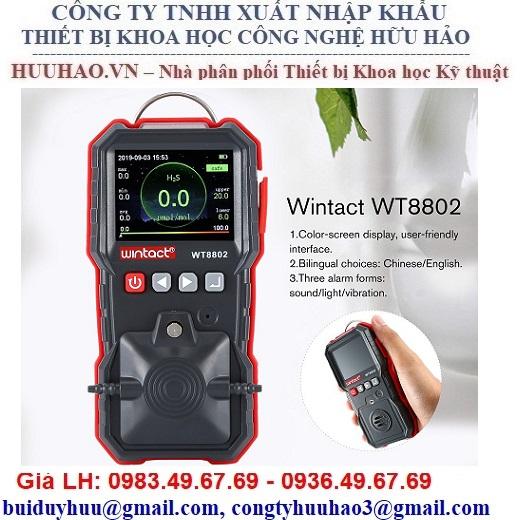 Máy đo nồng độ khí H2S Wintact WT8802