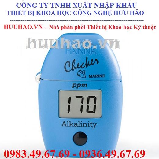 Máy đo độ kiềm hải sản Hanna HI755