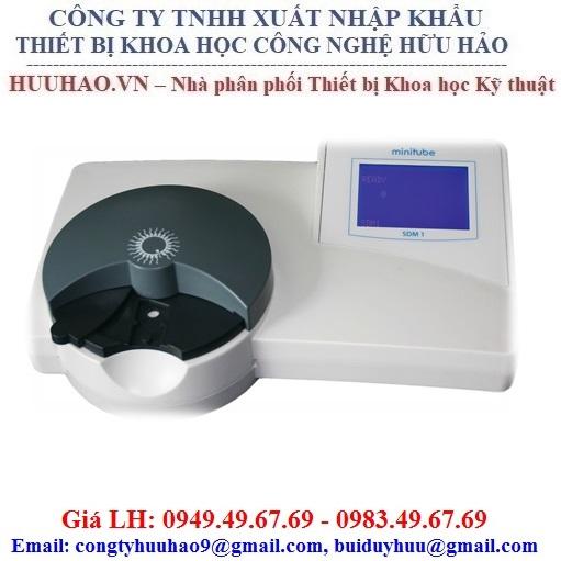 Máy đo mật độ tinh trùng heo MINITUBE Model SDM1